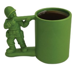 Big Mouth Toys Green Army Man Mug